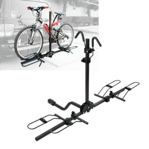 "2 Bike Bicycle 1-1/4"" & 2"" Hitch Mount Carrier Rack for Car Van Truck SUV"