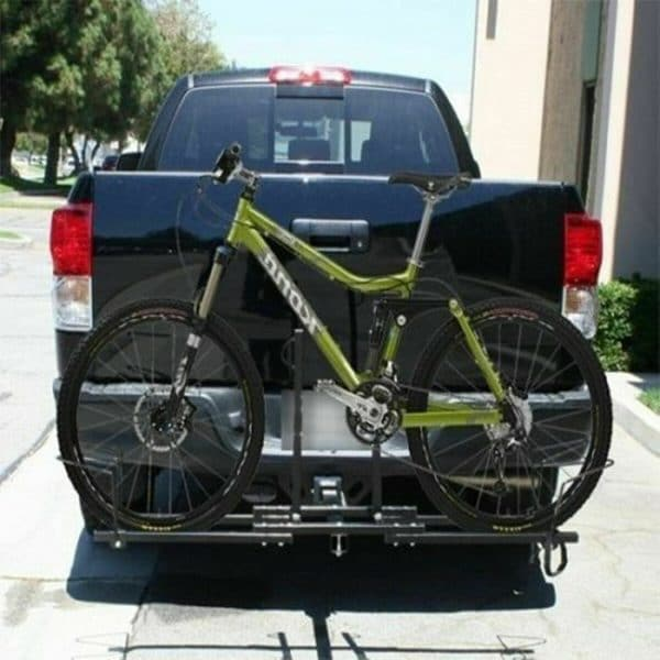 Bicycle Hitch Mount Carrier Fits Perfect on Vehicle