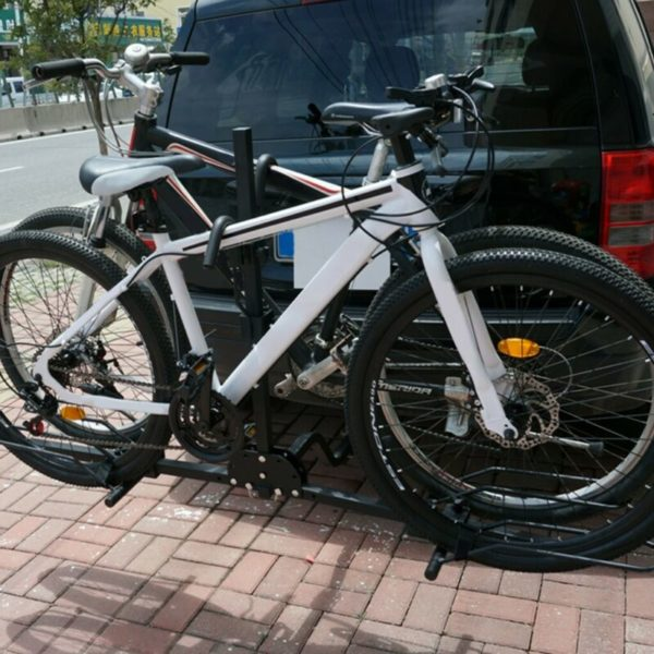 Fits 2 Bicycles with enough clearance from vehicle