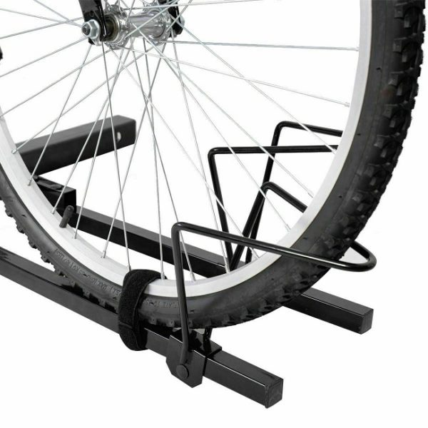 Securely straps each bike to ensure firmly hold