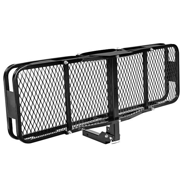 Folding Foldable Hitch Cargo Carrier Basket 500 lbs