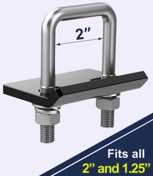 Hitch Tightener Stabilizer Device fits 1.25″ and 2″ Hitches